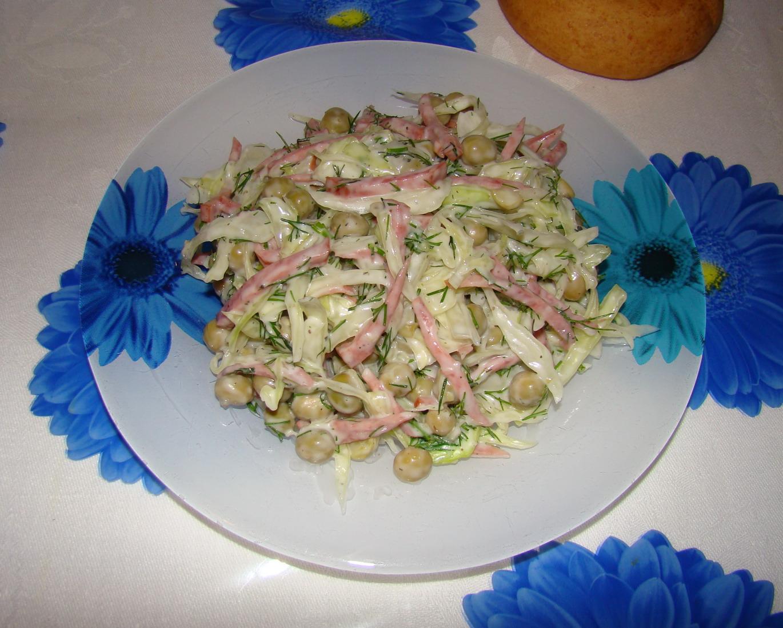 Салаты рецепты с маринованным луком