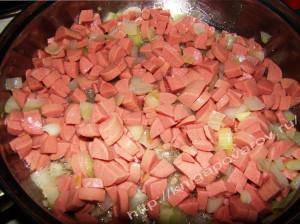 Овощи сосиска 5