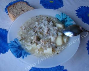 Суп рыбный 3