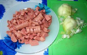 Овощи сосиска 4