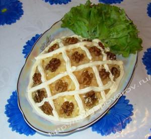 Ананас салат 1